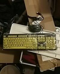 EZ eyes keyboard & mouse with wires  Mesa, 85205
