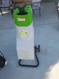 green and white electric chipper shredder Victorville