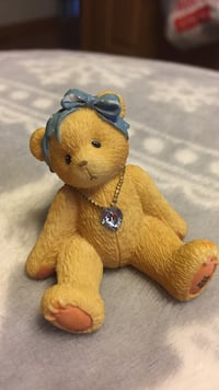 Collectible Bear December Month Jem Midland, 48642