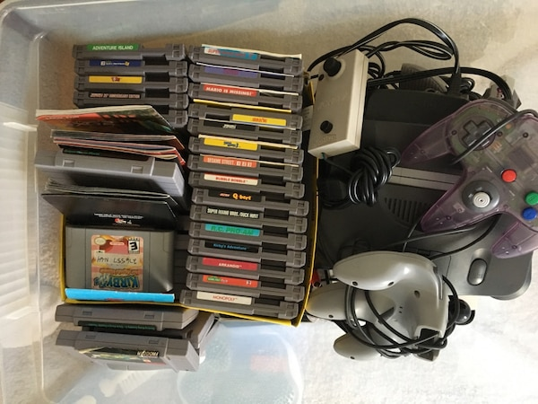 NES, Super NES and N64 console/games bundle 88495d13-31a2-4ace-87a3-c9a3ce3e3cfc