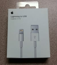 New in Sealed Box: Original Apple Lightning Charge (standard) Cable