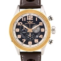 Weil and Harburg Karkin men's chronograph watch