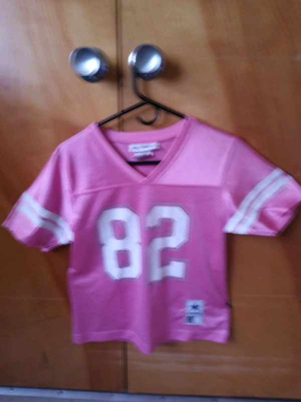 first rate da960 723c6 Dallas cowboys womens jersey (pink) small size