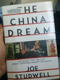 The China Dream by Joe Studwell book