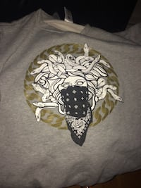 LARGE Crooks & castles medusa crew neck New Westminster, V3M