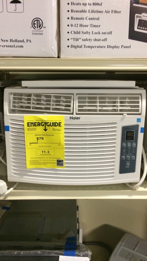 10,000 BTU window air conditioner window AC call up to 400 ft ² $199  manufacture warranty kit included