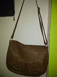 women's brown leather sling bag Sand Springs, 74063