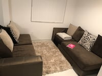 Less than a year use sectional. Take the rug FREE with purchase! Miami, 33180