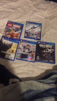 4 games  $50 for all Delano, 93215