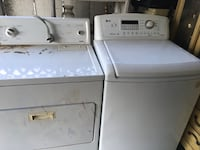 Washer and dryer  Porterville, 93257