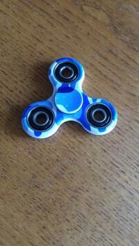 Figet spinner blue camo