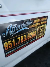 Affordable Auto Body in bumper repair