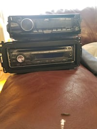 2 car stereos 1 bluetooth one aux