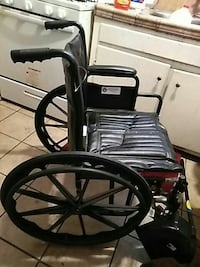 black and gray Craftsman wheelchair 2275 mi