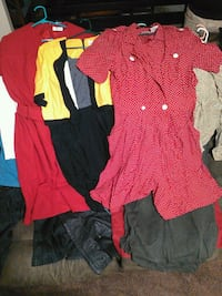 women's assorted clothes 2227 mi