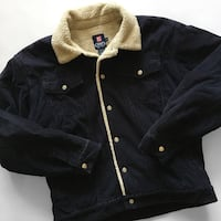 Corduroy Sherpa trucker jacket by Ralph Lauren Chaps  Size Large, and in excellent condition Toronto, M6M 5A7
