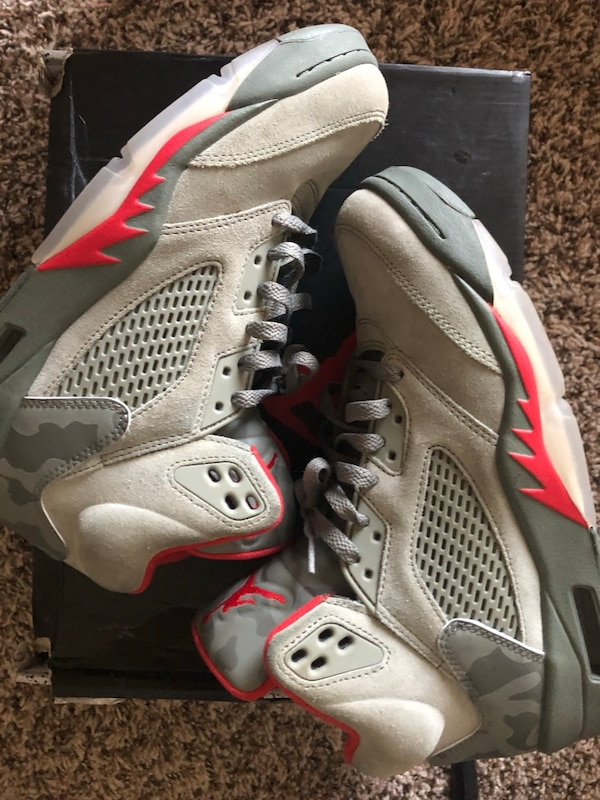 the best attitude 8258b d4b25 Used Pair of gray air jordan basketball shoes for sale in Dallas - letgo