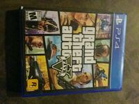 Sony PS4 Grand Theft Auto 5 game case Dickinson, 77539