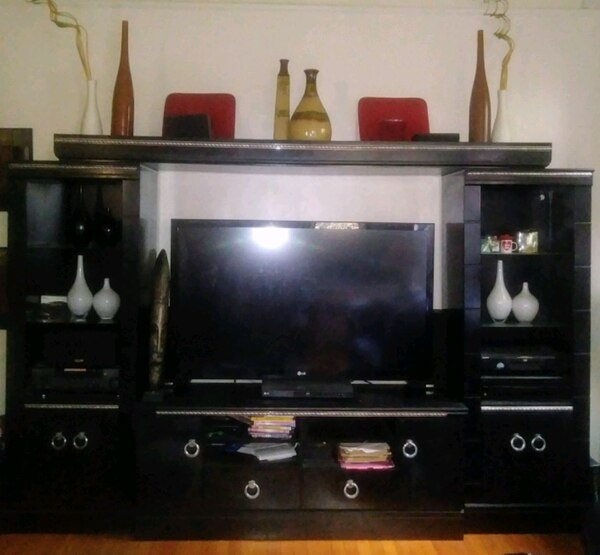 Used Ashley Furniture Entertainment Center For Sale In Linden Letgo