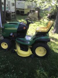 John Deere riding mover