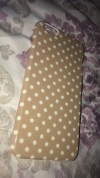Brown and white polka dot iPhone 6/6s plus case  Waldorf, 20601