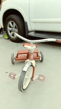 Radio flyer tricycle.