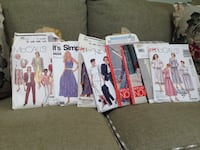 Sewing patterns-8 total & cross stitch magazines Winchester, 22602