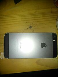 BLACK AND SILVER IPHONE 5S