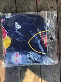 (USED) Mens XL Adidas York Red Bull Official Soccer Jersey West Allis, 53214