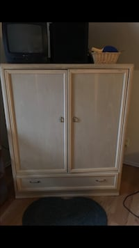 Entertainment center with drawer