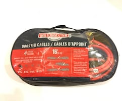MotoMaster Booster Cables, 4-Gauge, 16-ft