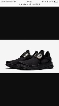 Nike sock dart black str. 40
