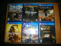 PS4 Games 35.00 each