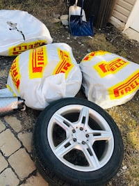 4 sets michelin summer tiers with mags 255/45 R18