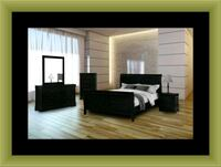11pc black bedroom set Annapolis