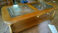 Coffee table with duo-glass top Wellford, 29385