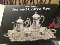 Silver plated tea and coffee set Vaughan