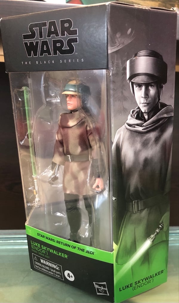 Star Wars The Black Series Luke Skywalker Endor e38122ca-fd1e-479e-9b9e-ce2ce6e72918