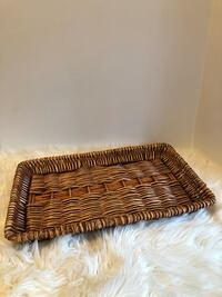 Wicker/rattan tray Belleville, K8P 3B8