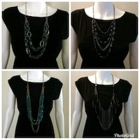 4 Necklaces for $10. Toronto