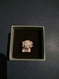 New Lab created opal 2 ring set size 6 Phoenix, 85051