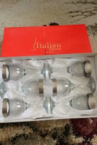 Wine glasses brand new Aurora, L4G 4T4