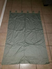 2 olive green curtains Humble, 77346