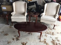 Chairs (2), End Tables (2), coffee table 277 mi
