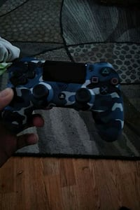 black and gray camouflage Sony PS4 controller Fort George Meade, 20755