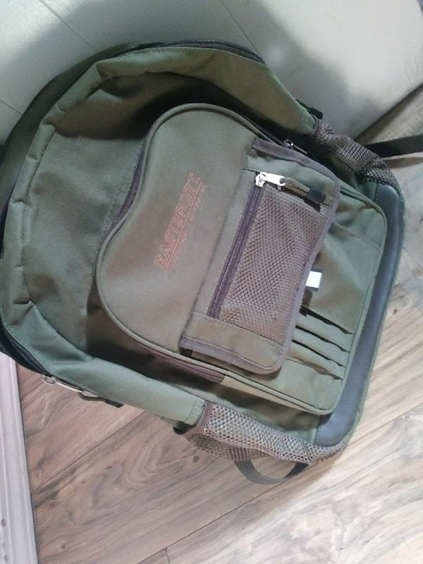 df4e36f40741 Used green and black Eastsport backpack for sale in North Las Vegas ...