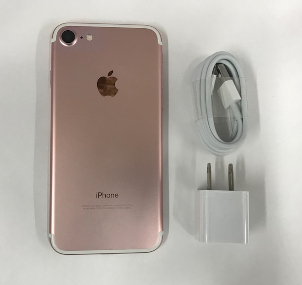 9a80de6b6b2 Used Rose Gold iPhone 7 32GB Factory Unlocked (Pink) for sale in New York -  letgo