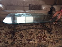 glass top coffee table and end tables Trotwood, 45426