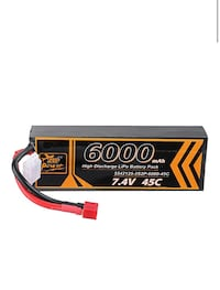 2s Lipo Battery ZOP Power 7.4V 6000mAh 45c 2s
