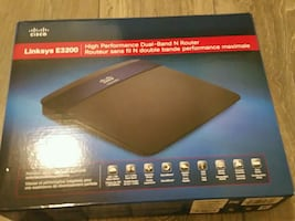 Linksys E3200 Router *Like New In Box*